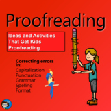 Proofreading  - You're Nearing the Finish Line!