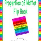 Properties of Matter Flip Book