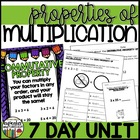 Properties of Multiplication 7 Day Unit 3.OA.5