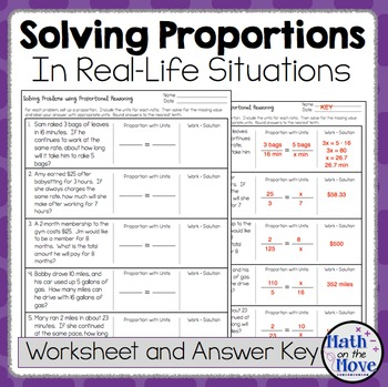 proportions word problem worksheet freebie - Proportions Worksheet