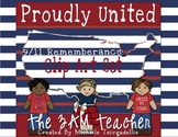 Proudly United: 9/11 Remembrance Clip Art Set