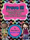 Prove It! Fiction Edition {18 Passages}