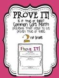 Prove it! {2nd grade common core math problems}