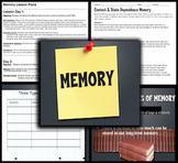 Psychology: Entire Memory Unit - PPTs, Handouts, Quiz, Pro