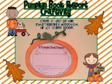 Pumpkin Book Report Craftivity