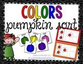 Pumpkin Color Sorting