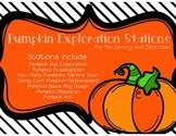 Pumpkin Exploration Stations **UPDATED***