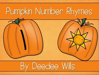 Pumpkin Number Rhymes-FREE