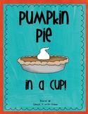 Pumpkin Pie in a Cup