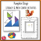 Pumpkin Soup by Helen Cooper Lesson Plan and Activities