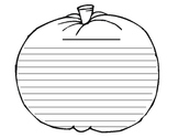Pumpkin Writing Template