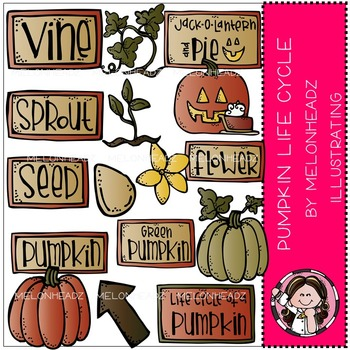 Pumpkin life cycle bundle by melonheadz