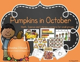 Pumpkins in October: Math, Science and Literacy Centers