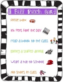 Punch Card Reward