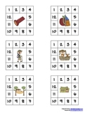 Punch Cards, Camping Theme
