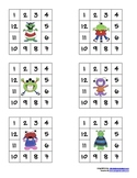 Punch Cards, Monster Theme