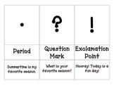 Punctuation 3 Part Cards