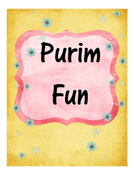Purim Fun