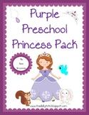 Purple Princess Preschool Pack