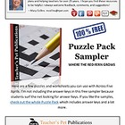 Puzzle Pack Sampler Where the Red Fern Grows