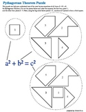 Pythagorean Theorem Mind Puzzle Fun Activity