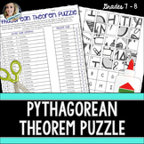Pythagorean Theorem Puzzle