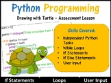 Python Programming Coding (Creating Shapes) Lesson 6 – Ind