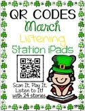 QR CODES for 24 Stories in your Listening Stations: MARCH