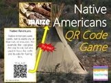 Native American Task Cards with QR Codes