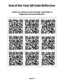 QR Code Reflection Tic-Tac-Toe