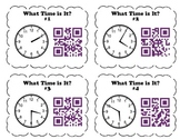 QR Code Task Cards: What Time Is It? Bundle Pack