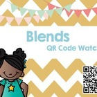 QR Code watch with blends