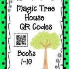 QR Codes: Magic Tree House, Books 1-10