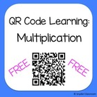 QR Multi-digit Multiplication Worksheet