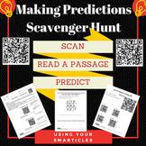 QR Scavenger Hunt -Making Predictions QR Codes