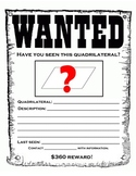 Quadrilateral Wanted Poster