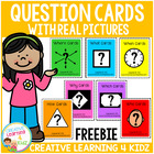 Question Card Sampler 14 Cards ABA Autism