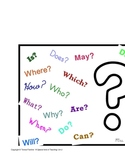Question Words Poster and Mini Posters