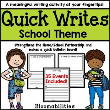 Quick Writes: Everyday Events