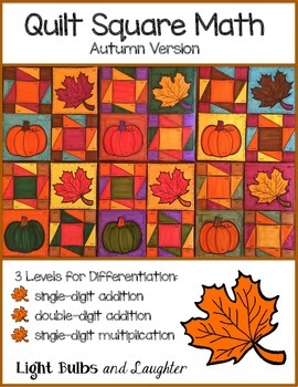 Fall Autumn Math Art