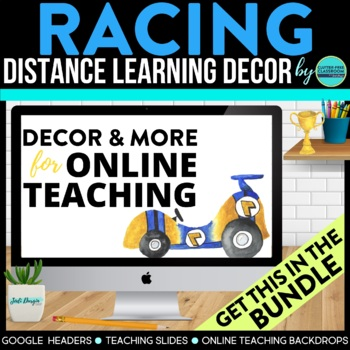RACING Classroom Theme Packet ~ Printables Decor and More