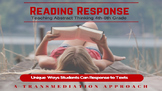 READING RESPONSE UNIT  Teaching Abstract and Critical Thinking