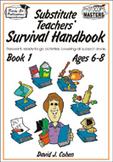 Substitute Teachers' Survival Handbook - Book 1  **Sale Pr