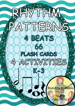 RHYTHM FLASH CARDS AND GAMES K-3