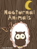 RI.1.5 Know and Use Various Text Features - Nocturnal Theme