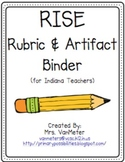 RISE Rubric and Artifact Binder (for Indiana teachers)