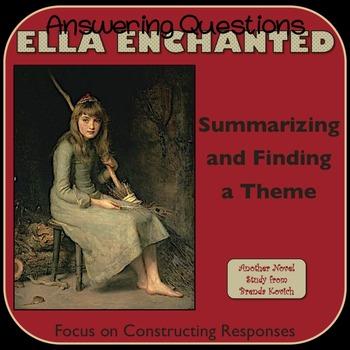 Ella Enchanted - Summarizing and Finding a Theme