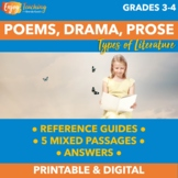 RL.4.5 Prose, Drama, and Poetry Practice Pack