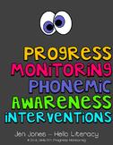 RTI: 125 Assessments for Progress Monitoring Phonemic Awar