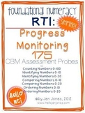 RTI: 175 CBM's for Progress Monitoring Foundational Numera